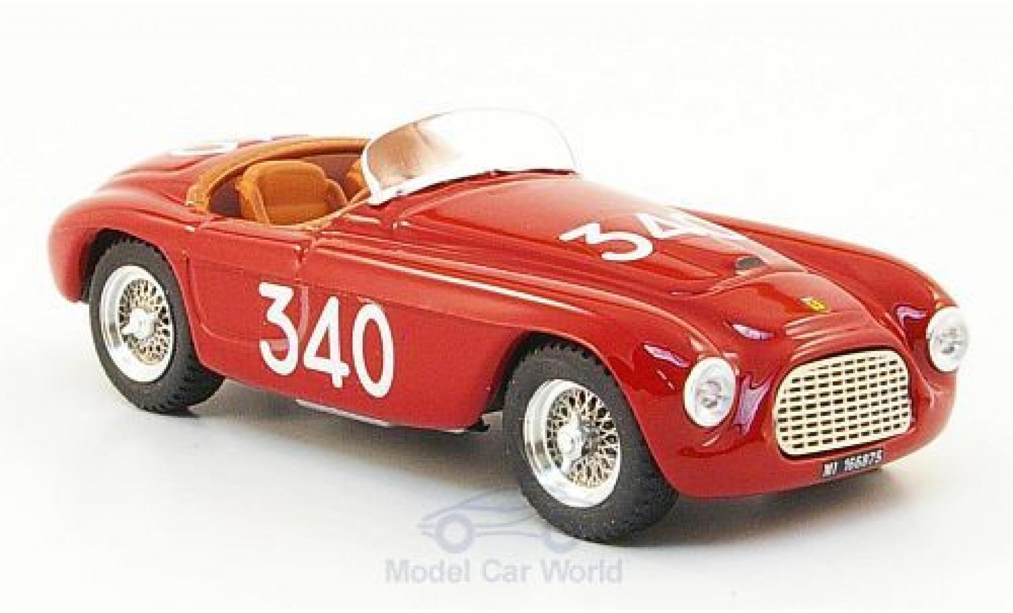 Ferrari 166 1951 1/43 Art Model MM Spyder RHD No.340 Mille Miglia 1951 E.Castellotti/G.Rota