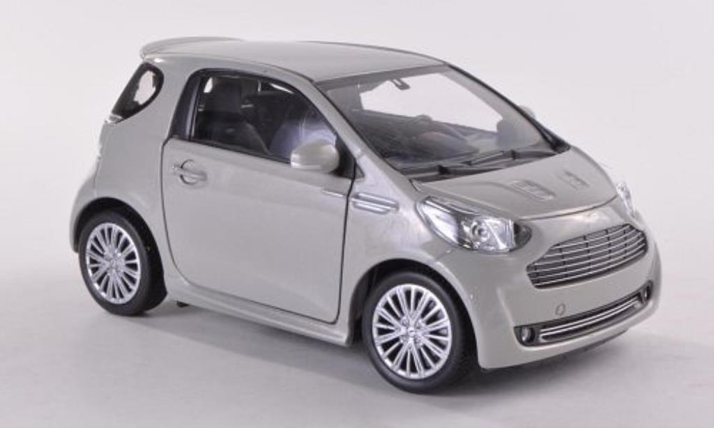 Aston Martin Cygnet 1/24 Welly grise miniature
