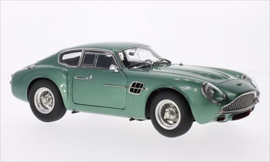 aston martin db4 miniature gt zagato metallic verte 1961 cmc 1 18 voiture. Black Bedroom Furniture Sets. Home Design Ideas