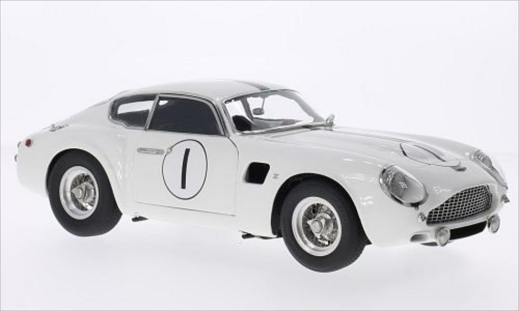 Aston Martin DB4 GT Zagato No.1 24h Le Mans 1961 CMC. Aston Martin DB4 GT Zagato No.1 24h Le Mans 1961 modellauto 1/18