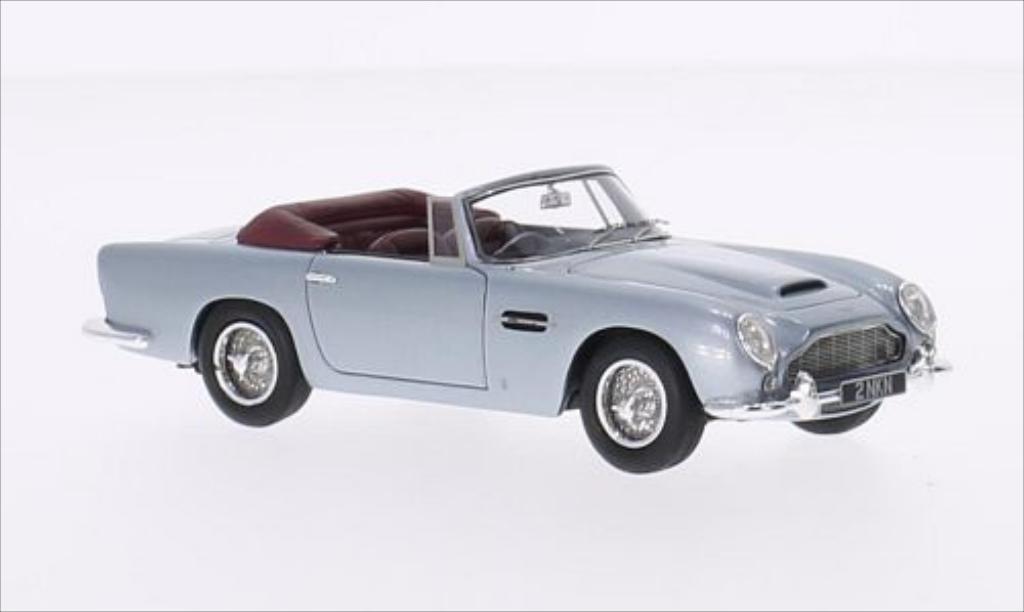 aston martin db5 miniature convertible metallic bleu rhd 1964 matrix 1 43 voiture. Black Bedroom Furniture Sets. Home Design Ideas