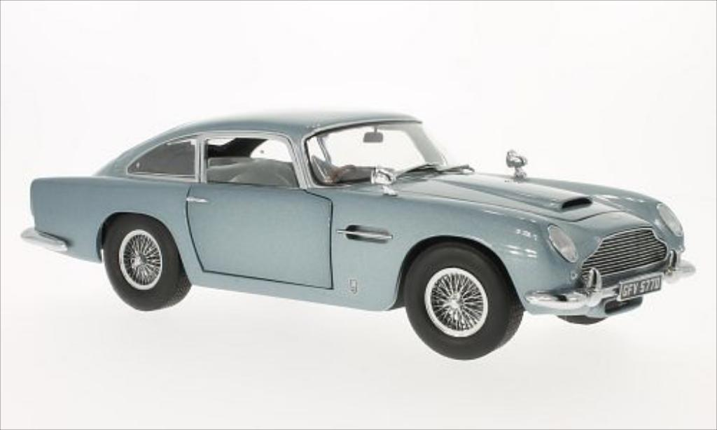 aston martin db5 metallic blau 1963 mcw modellauto 1 18 kaufen verkauf modellauto online. Black Bedroom Furniture Sets. Home Design Ideas