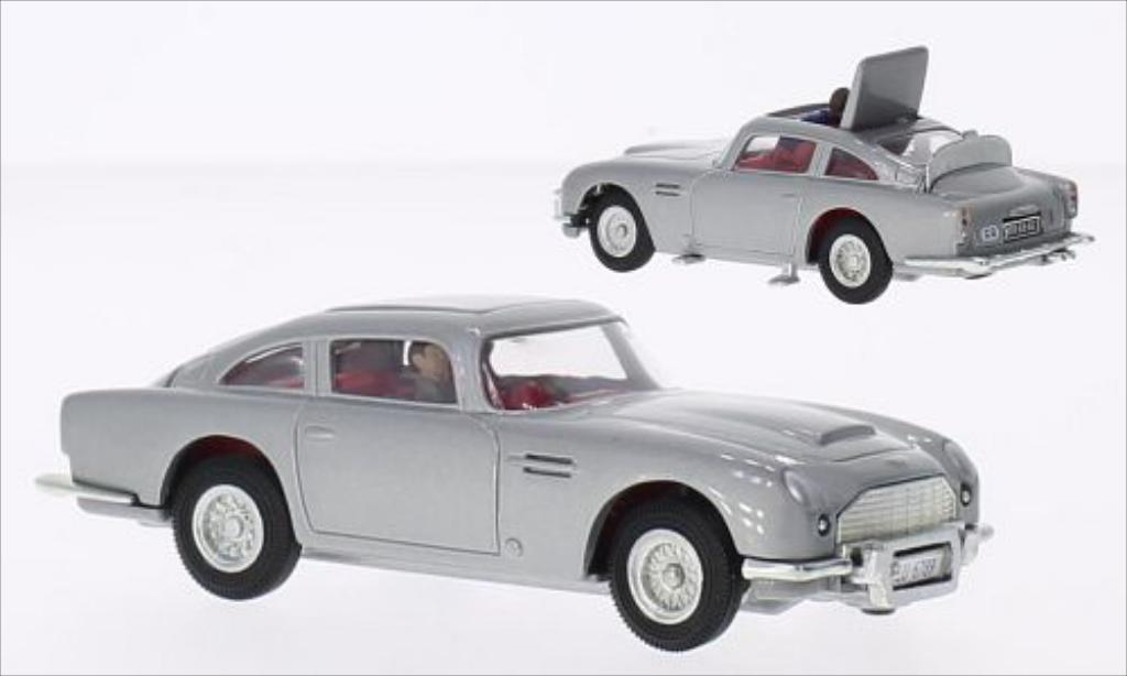 Aston Martin DB5 silber RHD Corgi. Aston Martin DB5 silber RHD modellauto 1/0