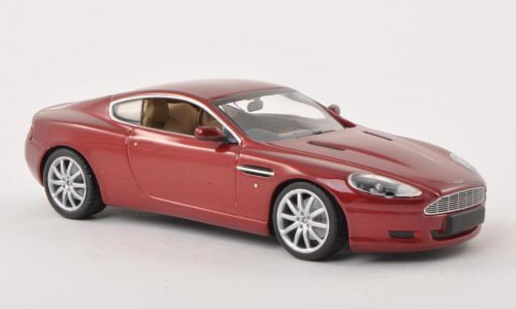 aston martin db9 miniature rouge 2009 minichamps 1 43 voiture. Black Bedroom Furniture Sets. Home Design Ideas