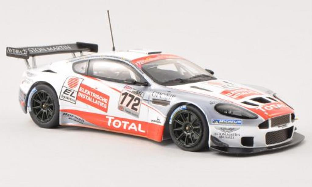 Aston Martin DBRS9 1/43 Minichamps No.172 Total Spa-Francorchamps 2009 /van diecast