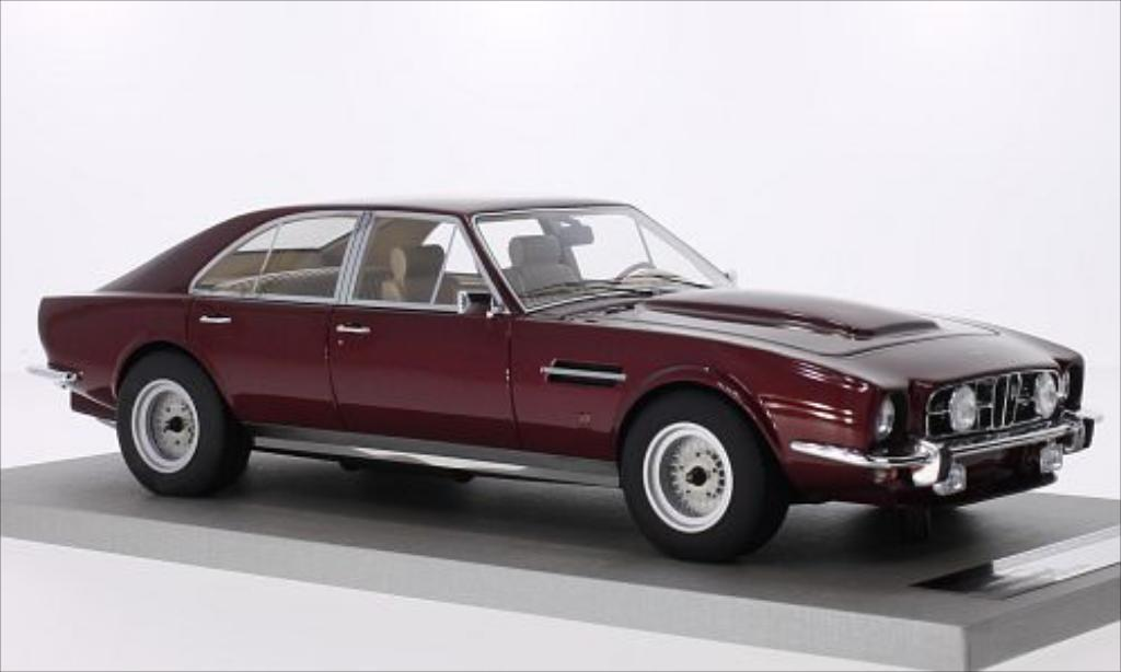 Aston Martin Lagonda 1/18 Tecnomodel V8 4-Door Saloon metallic-rouge 1974 miniature