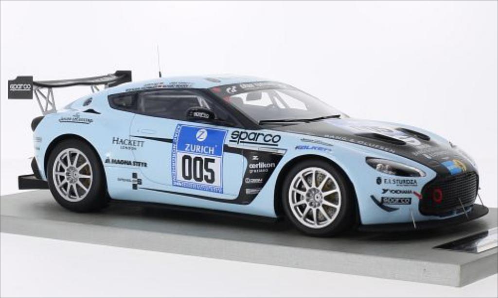Aston Martin V12 Zagato 1/18 Tecnomodel No.5 24h Nurburgring 2012 /R.Meaden miniature