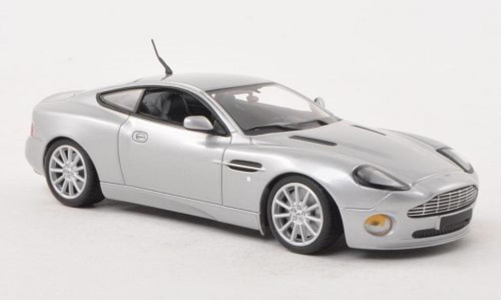 Aston Martin Vanquish 1/43 Minichamps S grise 2004 miniature