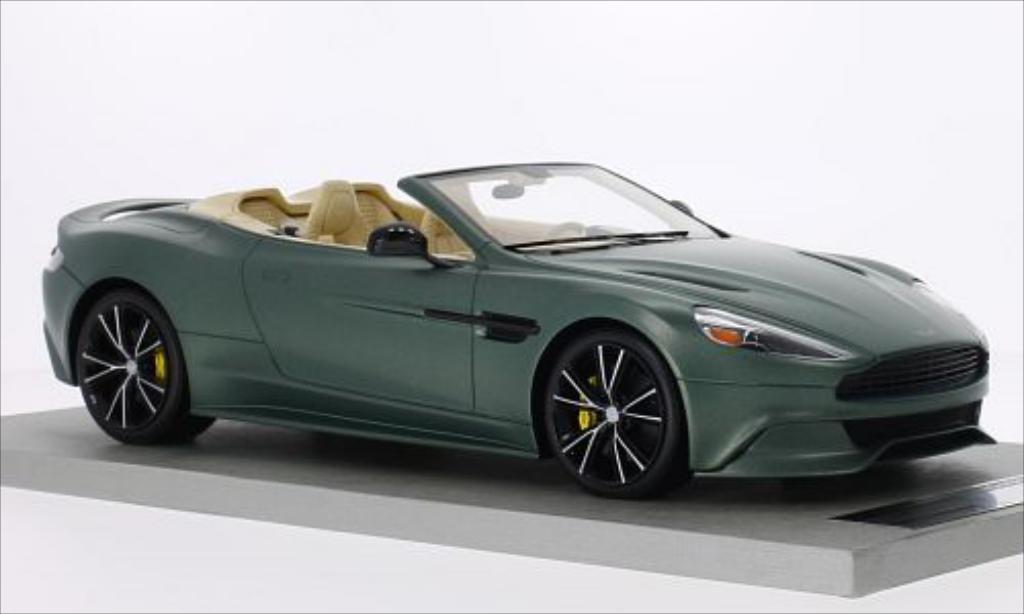 aston martin vanquish volante matt green tecnomodel diecast model car 1 18 buy sell diecast. Black Bedroom Furniture Sets. Home Design Ideas