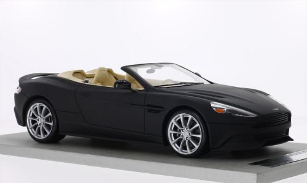 Aston Martin Vanquish 1/18 Tecnomodel Volante matt-noire miniature