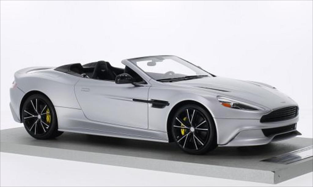 aston martin vanquish volante matt gray 2014 tecnomodel diecast model car 1 18 buy sell. Black Bedroom Furniture Sets. Home Design Ideas