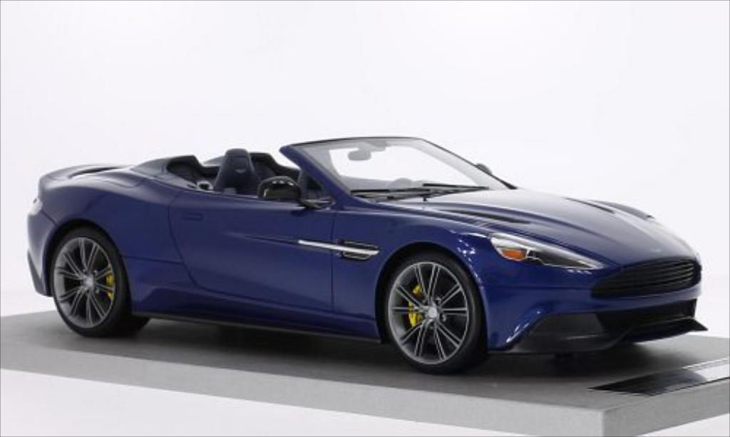 aston martin vanquish volante metallic blue tecnomodel diecast model car 1 18 buy sell diecast. Black Bedroom Furniture Sets. Home Design Ideas