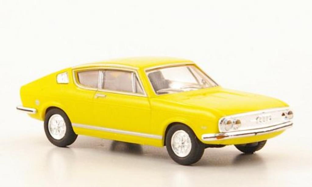 audi 100 coupe s s coupe gelb herpa modellauto 1 87 kaufen verkauf modellauto online. Black Bedroom Furniture Sets. Home Design Ideas