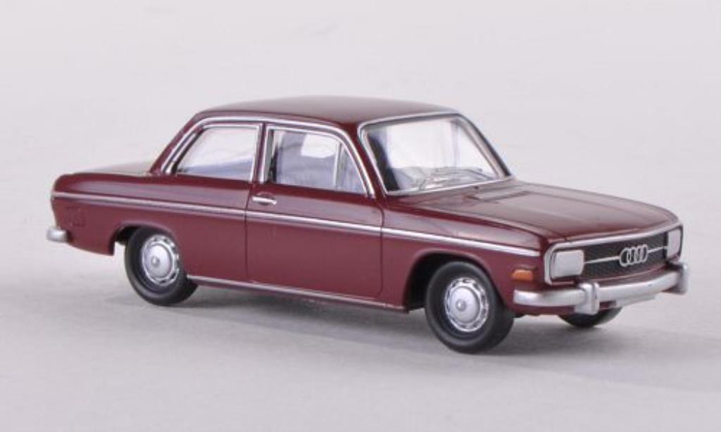 Audi 60 1/87 Herpa L rouge miniature