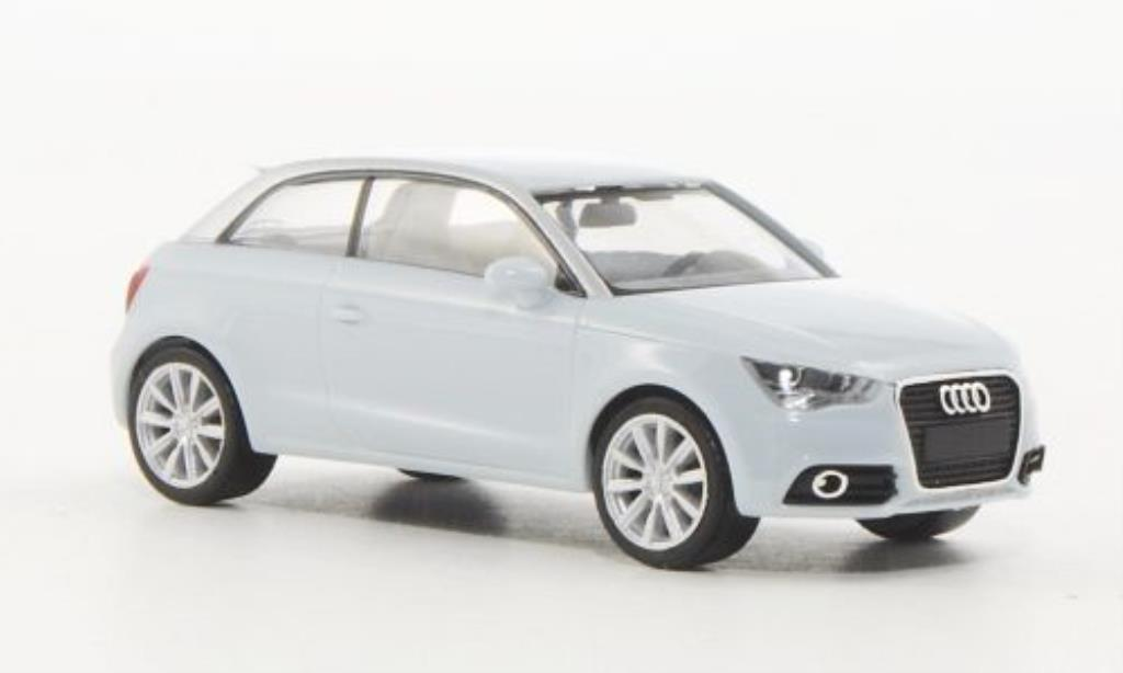 audi a1 miniature bleu herpa 1 87 voiture. Black Bedroom Furniture Sets. Home Design Ideas
