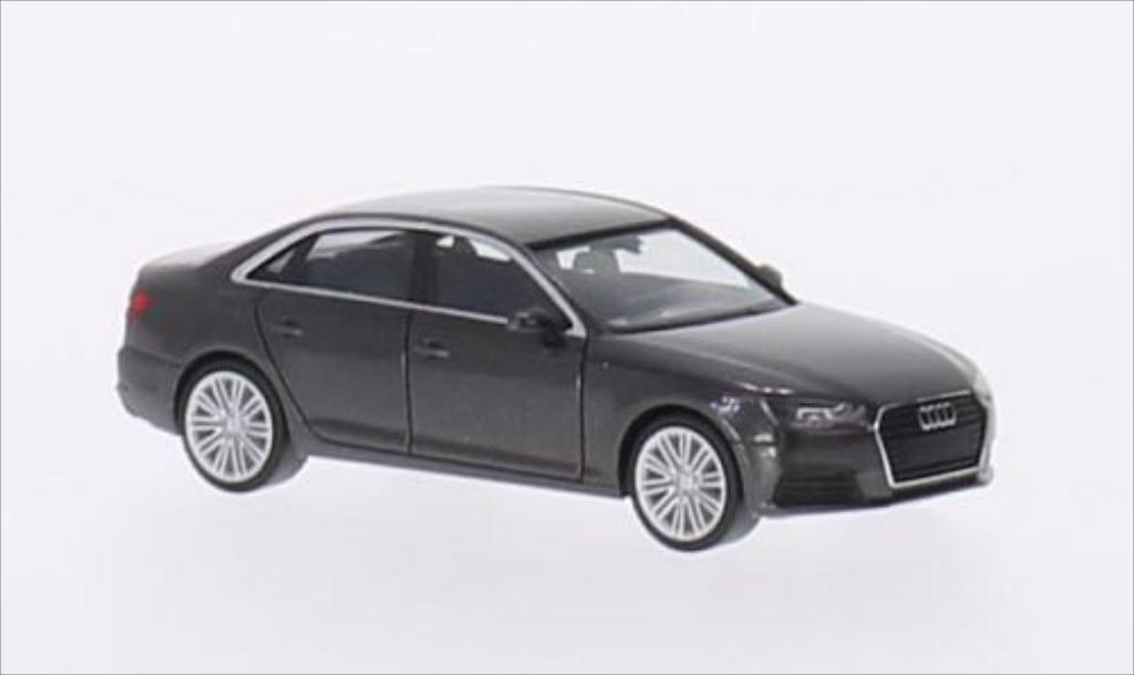 Audi A4 1/87 Herpa (B9) metallic-marron