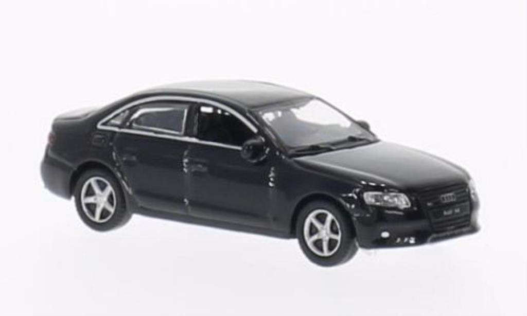 Audi A4 1/87 Welly noire 2008 miniature