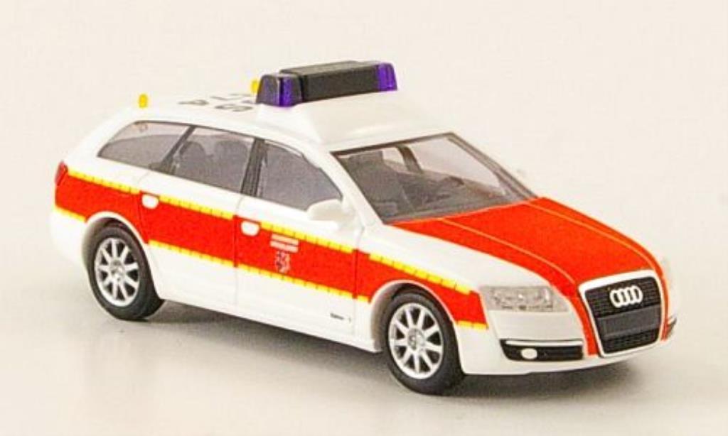 Audi A6 Avant 1/87 Busch Avant Feuerwehr Dusseldorf diecast model cars