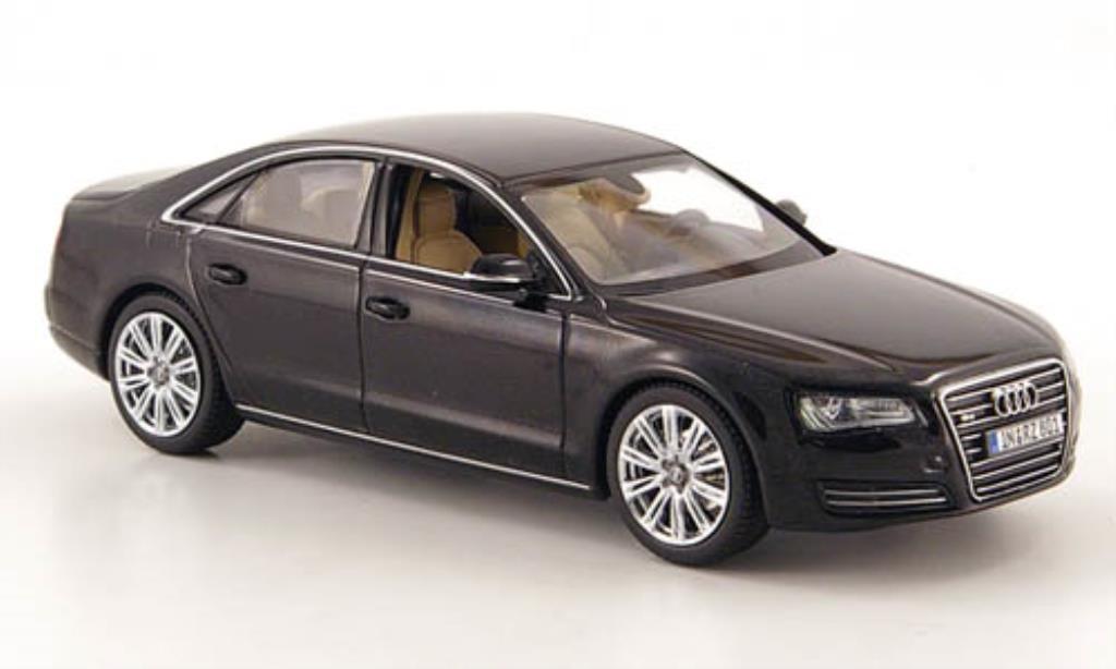 audi a8 schwarz 2010 kyosho modellauto 1 43 kaufen verkauf modellauto online. Black Bedroom Furniture Sets. Home Design Ideas