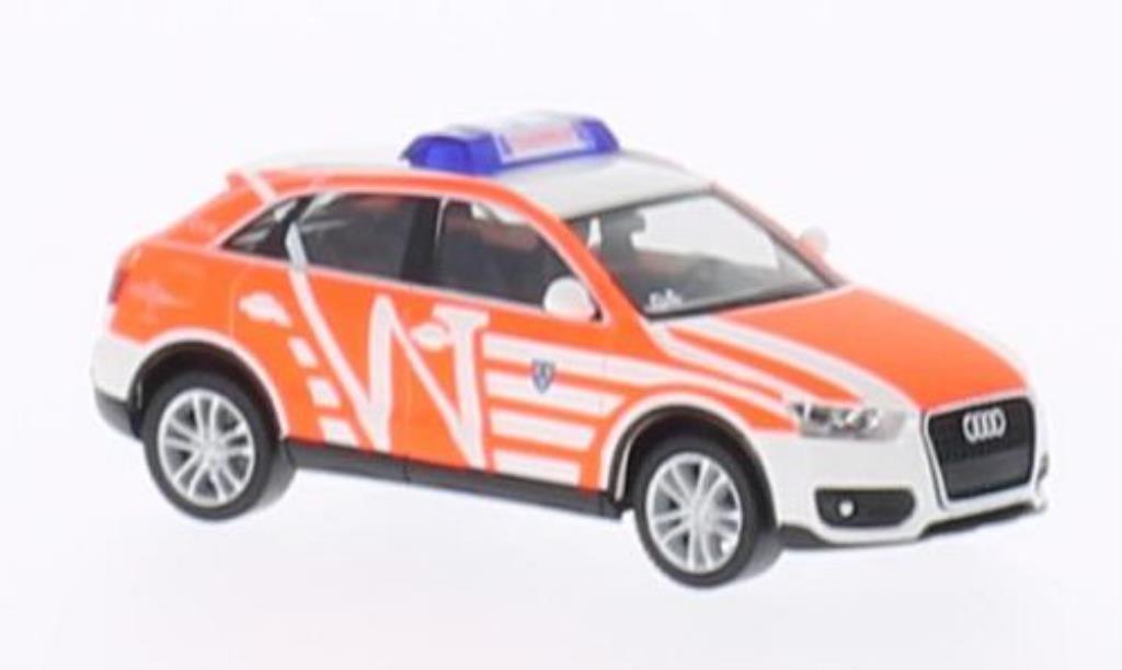 Audi Q3 1/87 Herpa Feuerwehr Wiesbaden - ELW miniature