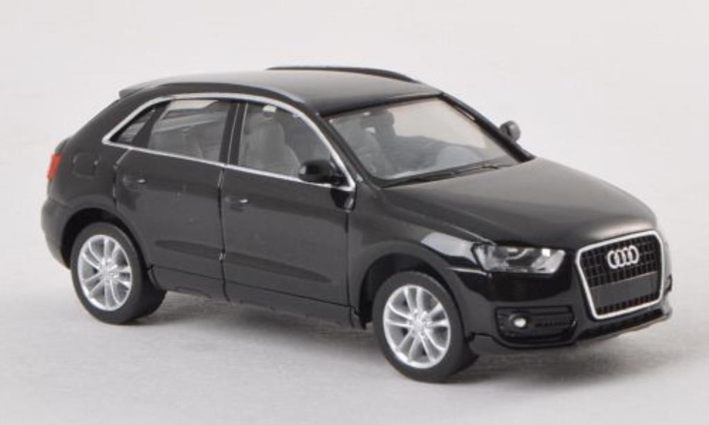Audi Q3 1/87 Herpa schwarz