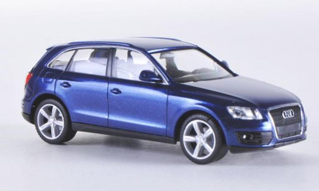 audi q5 blau herpa modellauto 1 87 kaufen verkauf modellauto online. Black Bedroom Furniture Sets. Home Design Ideas