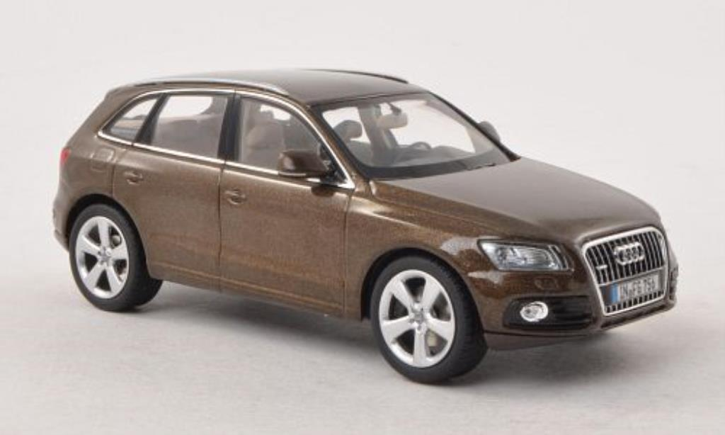 Audi Q5 1/43 Schuco marron 2012 miniature