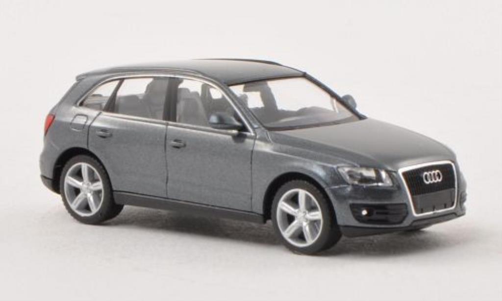 audi q5 grau herpa modellauto 1 87 kaufen verkauf modellauto online. Black Bedroom Furniture Sets. Home Design Ideas