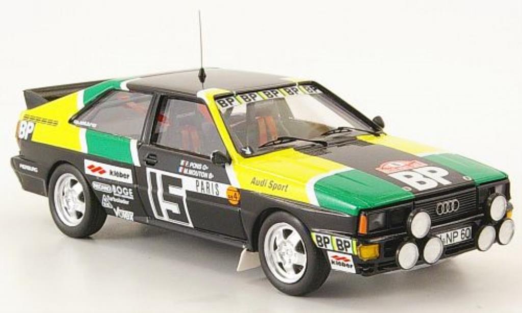 Audi Quattro 1/43 Trofeu No.15 Mouton/Pons Rally Monte Carlo 1981 miniature