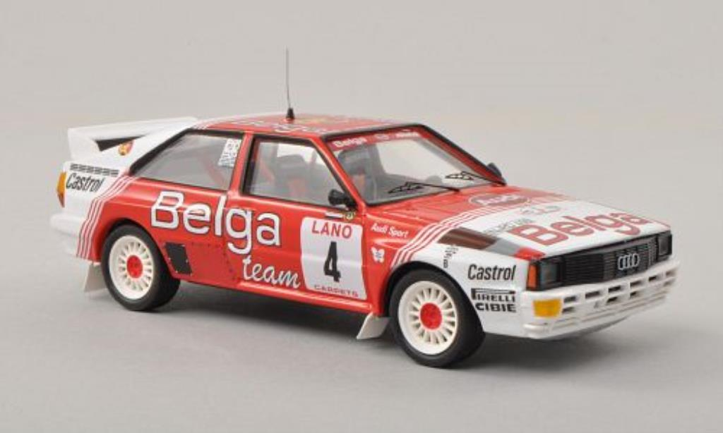 Audi Quattro 1/43 Trofeu No.4 Belga Rally Ypern 1983 /W.Lux miniature