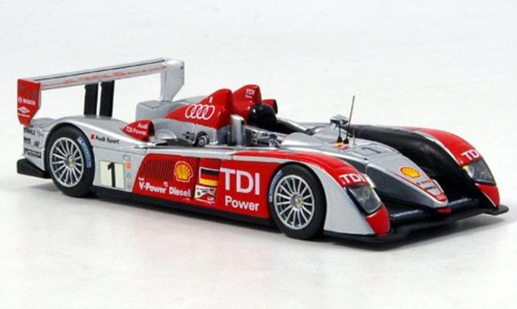 Audi R10 1/43 IXO No.1 Biela/Werner/Pirro Sieger Le Mans 2007 miniature