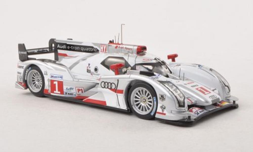 Audi R18 1/43 IXO E-Tron Quattro No.1 24h Le Mans 2012 /B.Treluyer miniature