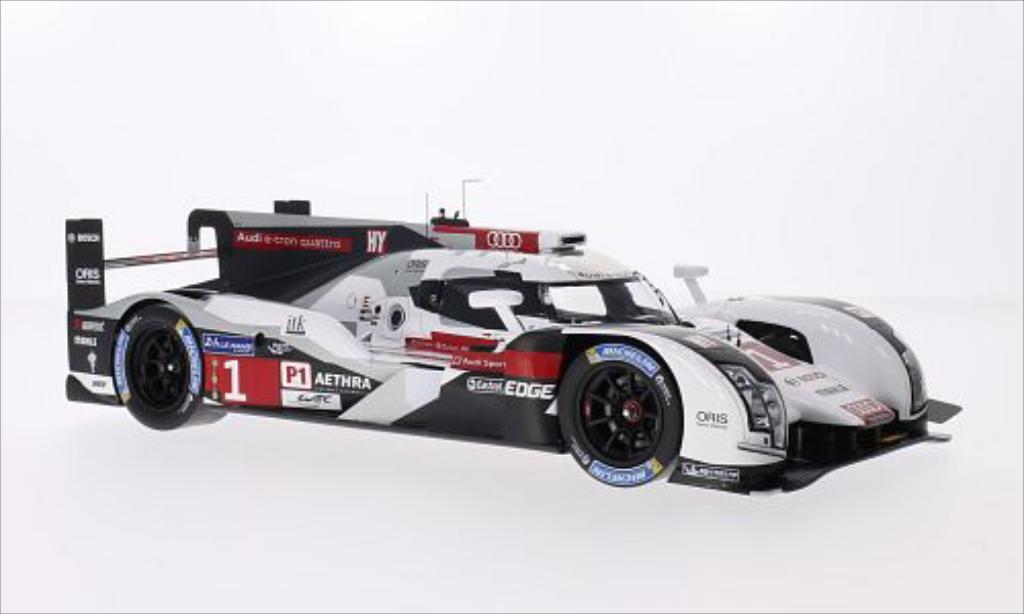 Audi R18 e-tron 1/18 Spark e-tron quattro No.1 Sport Team Joest 24h Le Mans 2014 miniature