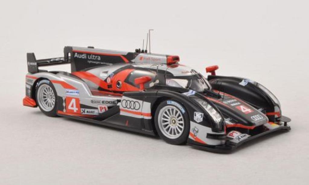Audi R18 1/43 IXO Ultra No.4 24h Le Mans 2012 /M.Rockenfeller miniature