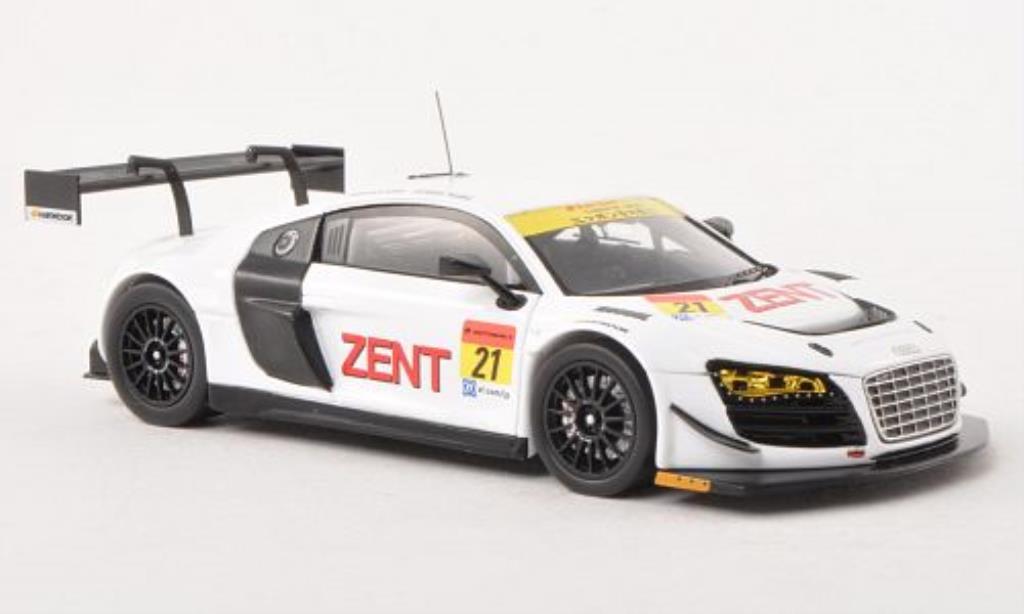 Audi R8 LMS 1/43 Ebbro LMS No.21 Zent Super GT300 Testfahrzeug Okayama 2013 /R.Lyons diecast model cars