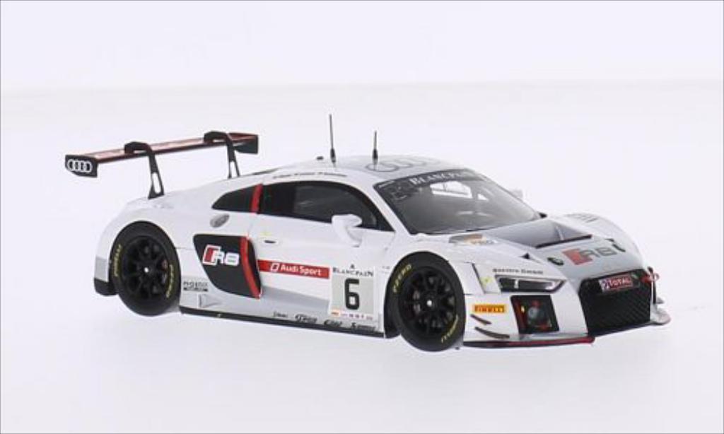 Audi R8 LMS 1/43 Spark LMS No.6 Phoenix Racing 24h Spa 2015 /M.Fassler diecast model cars