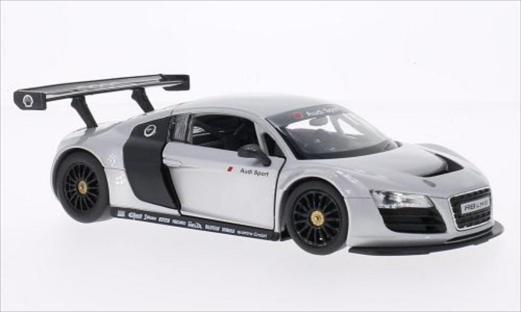 Audi R8 LMS 1/24 Rastar LMS grey diecast model cars