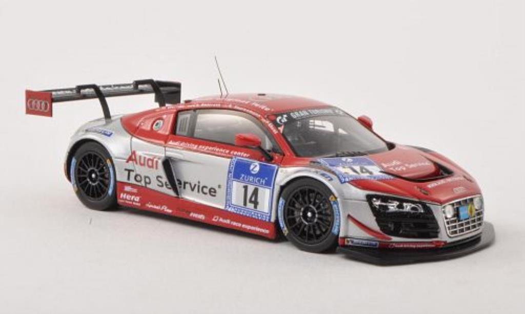 Audi R8 LMS 1/43 Spark LMS ultra No.14 race experience 24h Nurburgring 2013 /R.Saurenmann diecast model cars