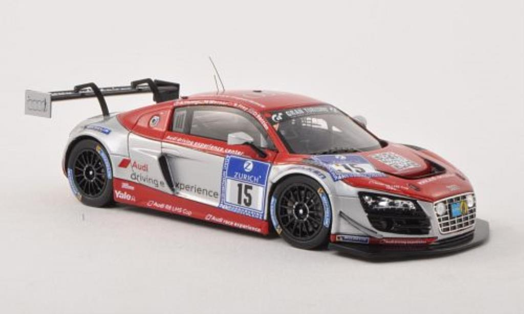Audi R8 LMS 1/43 Spark LMS ultra No.15 race experience 24h Nurburgring 2013 /A.Yoong modellino in miniatura