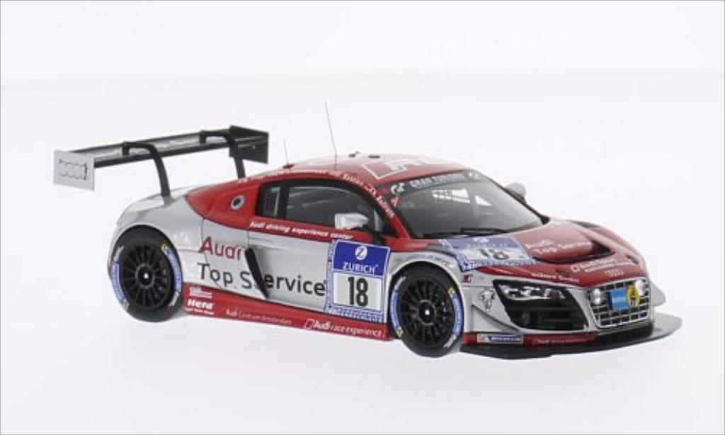 Audi R8 LMS 1/43 Spark LMS ultra No.18 Race Experience 24h Nurburgring 2014 /C.Bollrath diecast model cars