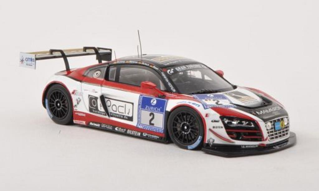 Audi R8 LMS 1/43 Spark ultra No.2 Mamerow Racing 24h Nurburgring 2013 /T.Mutsch diecast