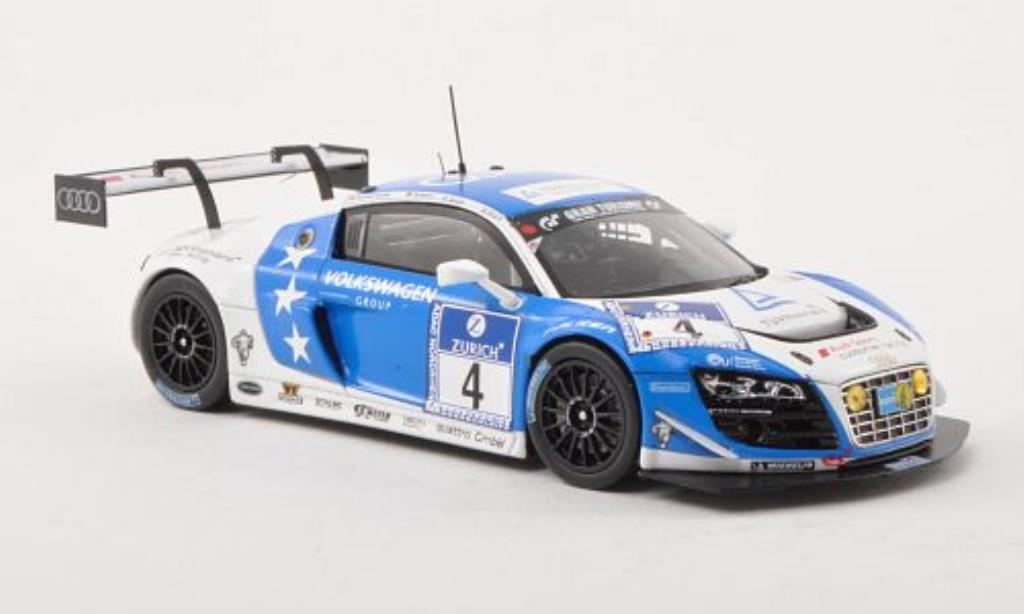 Audi R8 LMS 1/43 Minichamps Ultra No.4 Phoenix Racing 24h ADAC Nurburgring 2013 /Stippler diecast