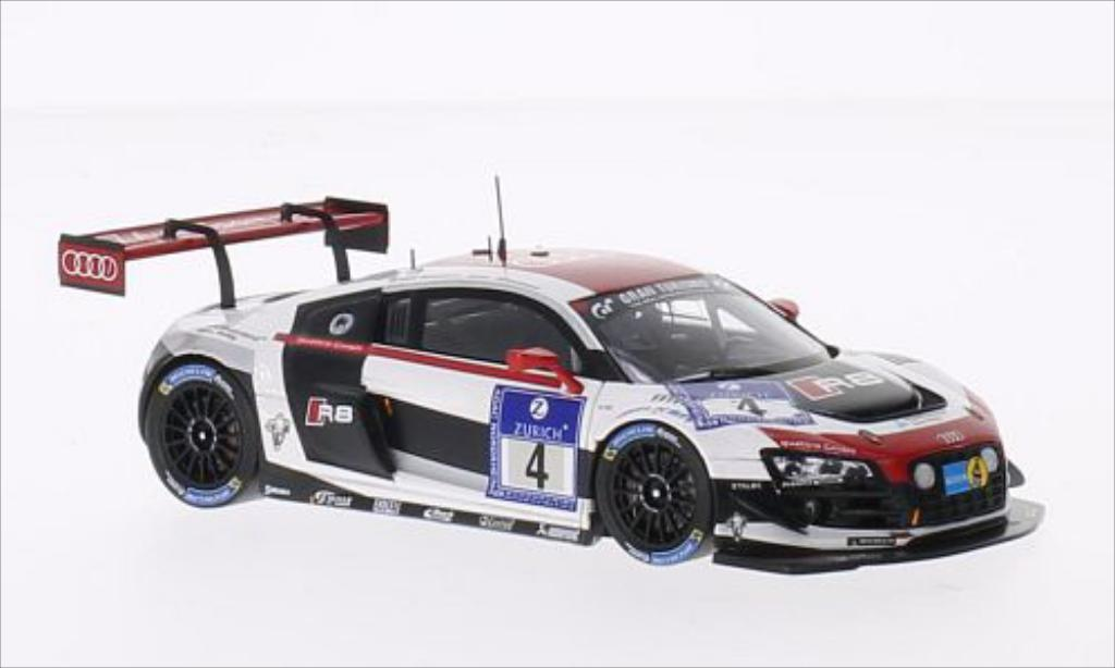 Audi R8 LMS 1/43 Spark LMS Ultra No.4 Phoenix Racing 24h Nurburgring 2014 /R.Rast diecast model cars