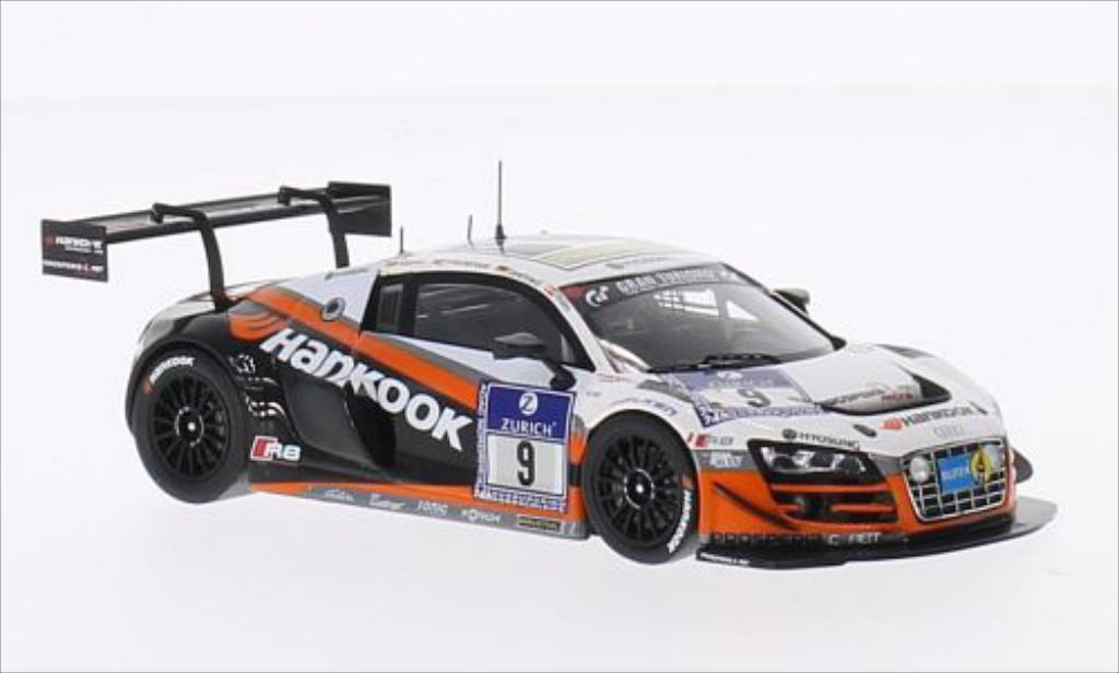Audi R8 LMS 1/43 Spark Ultra No.9 Prosperia C.Abt Racing 24h Nurburgring 2014 /A.Muller miniature