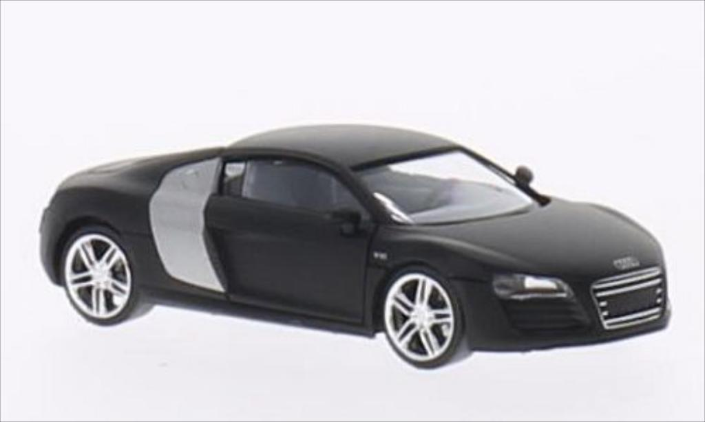 audi r8 matt schwarz herpa modellauto 1 87 kaufen verkauf modellauto online. Black Bedroom Furniture Sets. Home Design Ideas