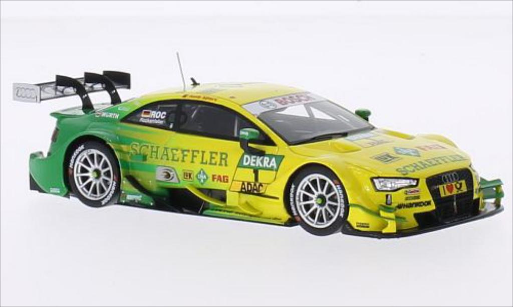 Audi RS5 DTM 1/43 Spark No.1 Sport Team Phoenix Schaeffler 2014 diecast model cars