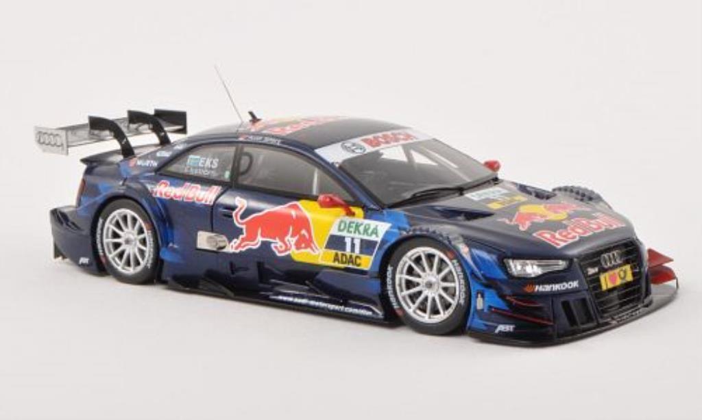 Audi RS5 DTM 1/43 Spark No.11 Sport Team Abt Sportsline Red Bull -Saison 2013 diecast model cars
