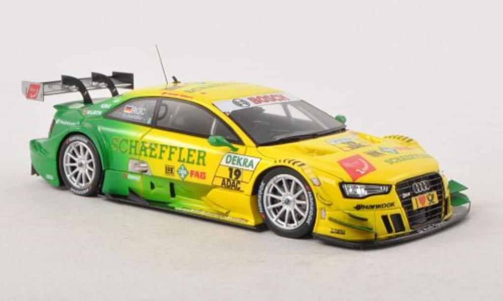 Audi RS5 DTM 1/43 Spark No.19 Sport Team Phoenix Saison 2013 diecast model cars