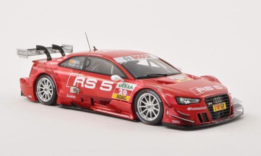 Audi RS5 DTM 1/43 Spark No.20 Team Phoenix -Saison 2013 diecast model cars