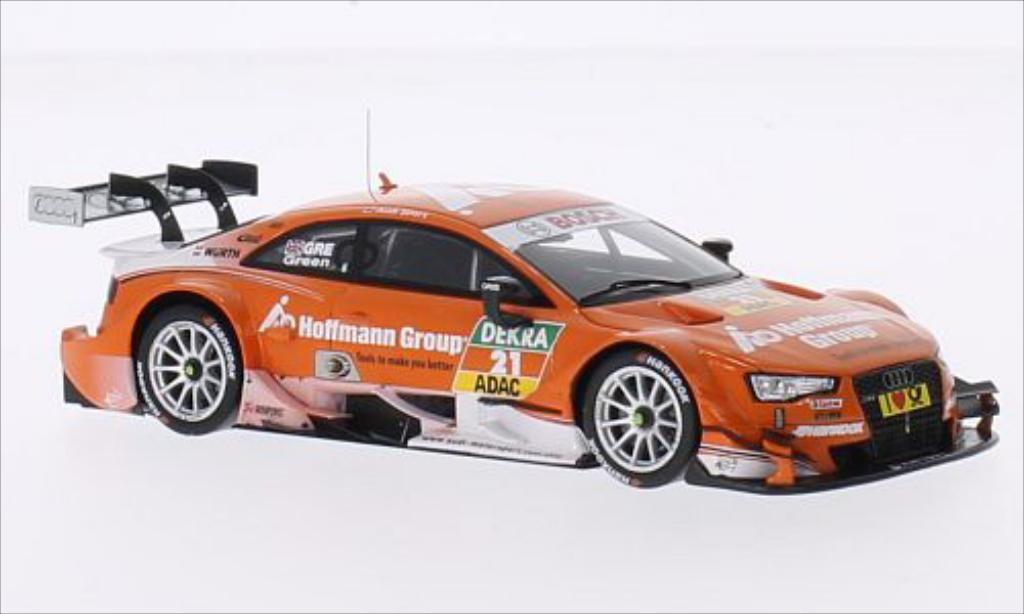 Audi RS5 DTM 1/43 Spark No.21 Sport Team Rosberg Hoffmann Group 2014 miniature